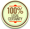 100% legal certainty